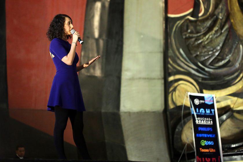 Tania Pimentel es la persona que representa a PechaKucha en México.