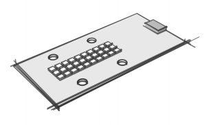Módulo LED rectangular de alta intensidad para iluminación exterior. Fuente: www.zhagastandard.org