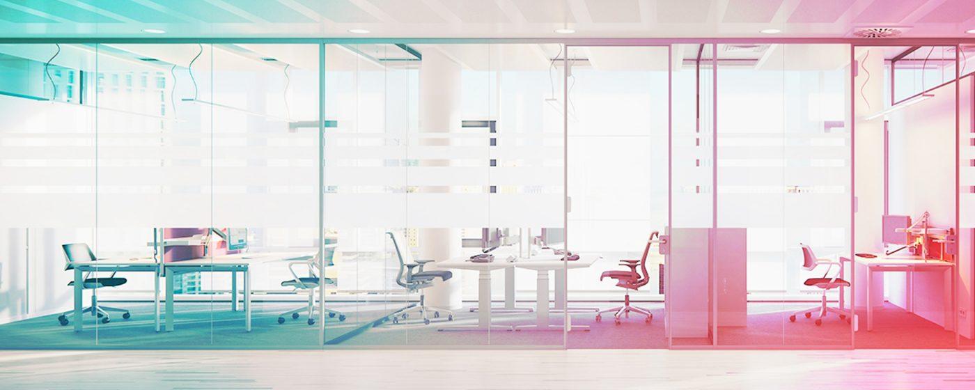 Iluminaci n en oficinas retrospectiva lightroom for Origen de las oficinas