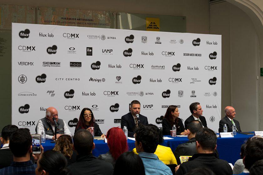 Conferencia de prensa Filux 2017