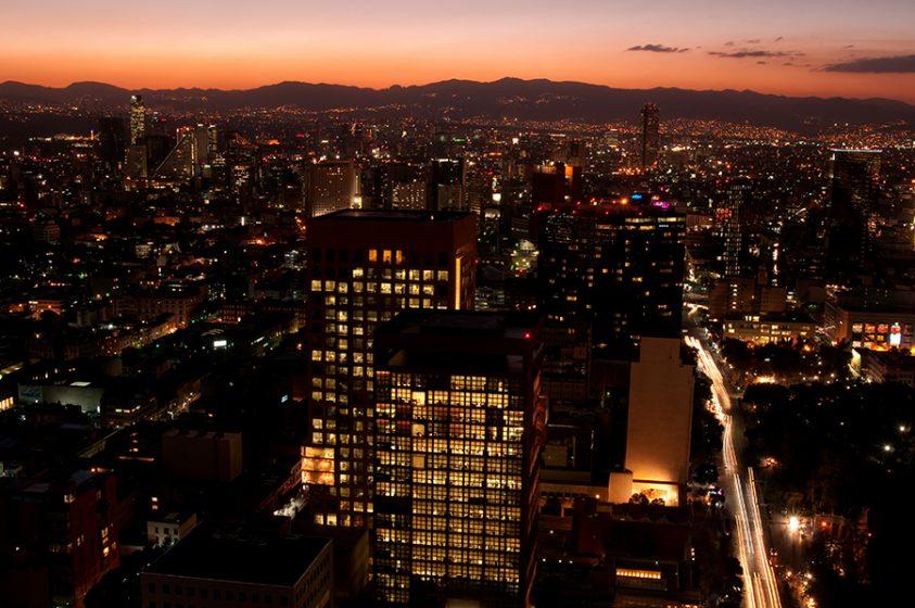 Iluminación en el espacio urbano
