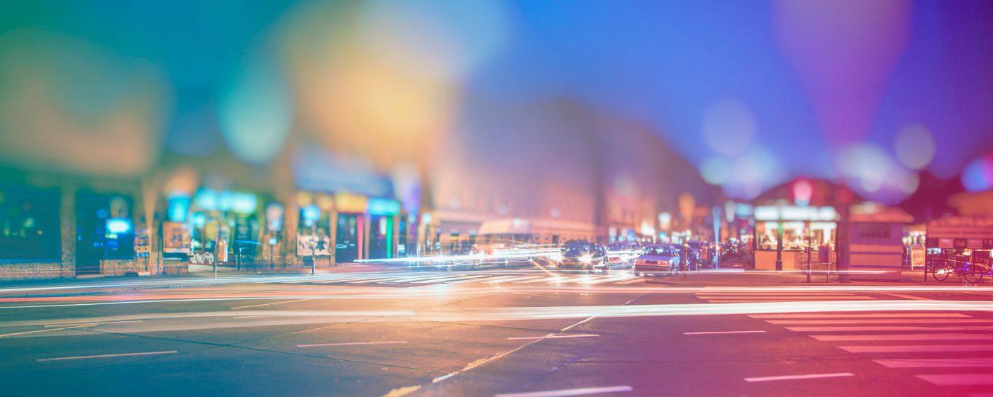 Luz en el espacio urbano