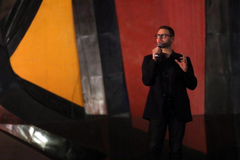 David Di Bona, director general del Festival Internacional de las Luces de México.