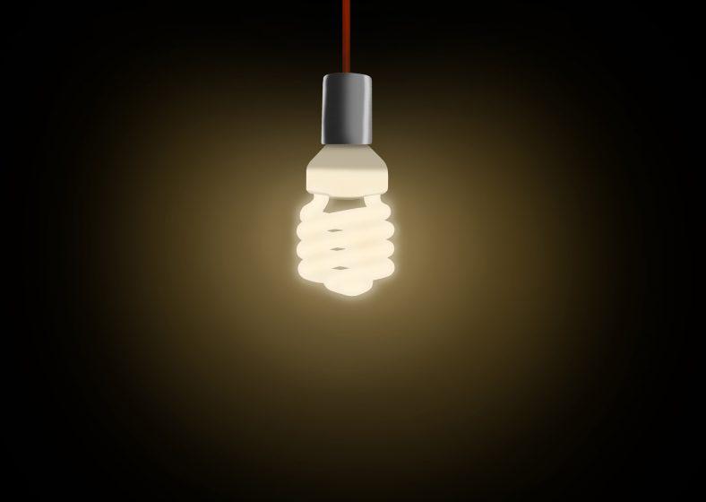 Lámpara con flujo luminoso omnidireccional.