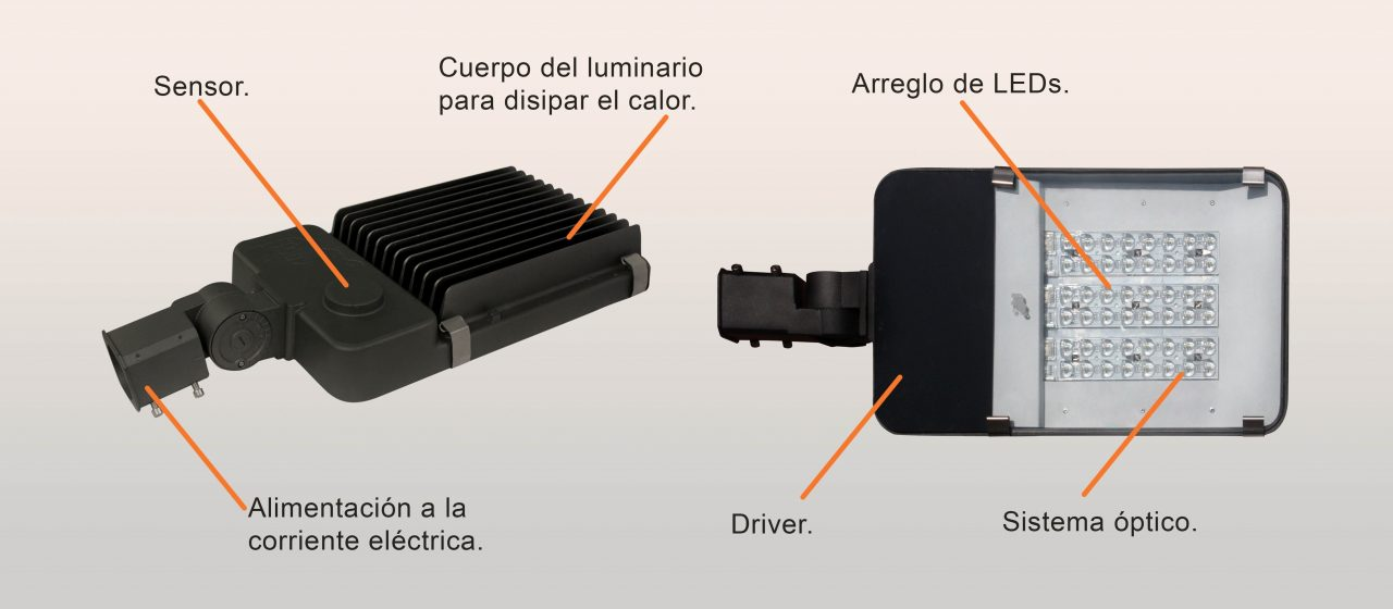 Luminario LED Integrado