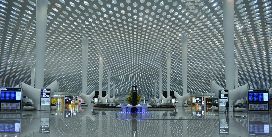 Shenzhen Airport en China.