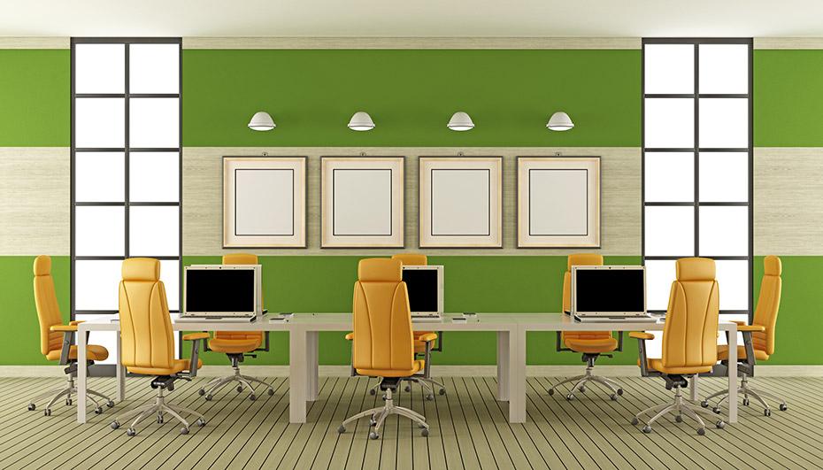 Espacio coworking - Luz, color y confort