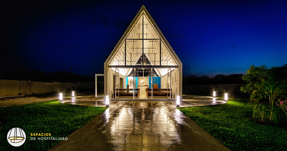 Capilla Cristo Resucitado - Construlita Lighting Awards