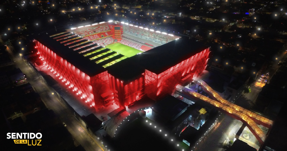 Estadio Nemesio Diez - Construlita Lighting Awards
