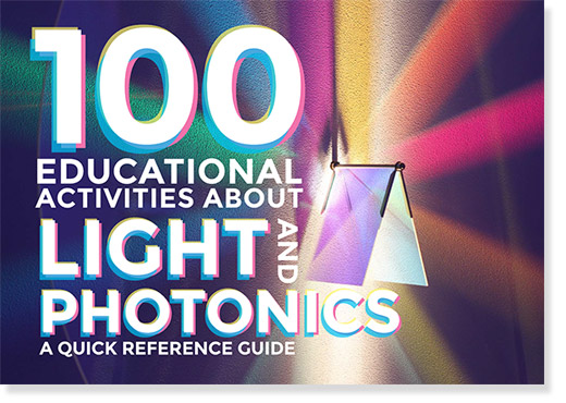 100 educational activities about light and photonics